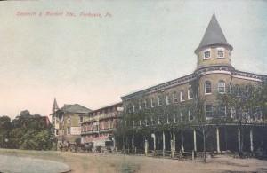 The American House circa 1900.