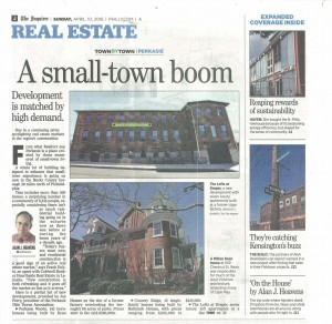 Inquirer-RealEstate-ASmallTownBoom-Page1